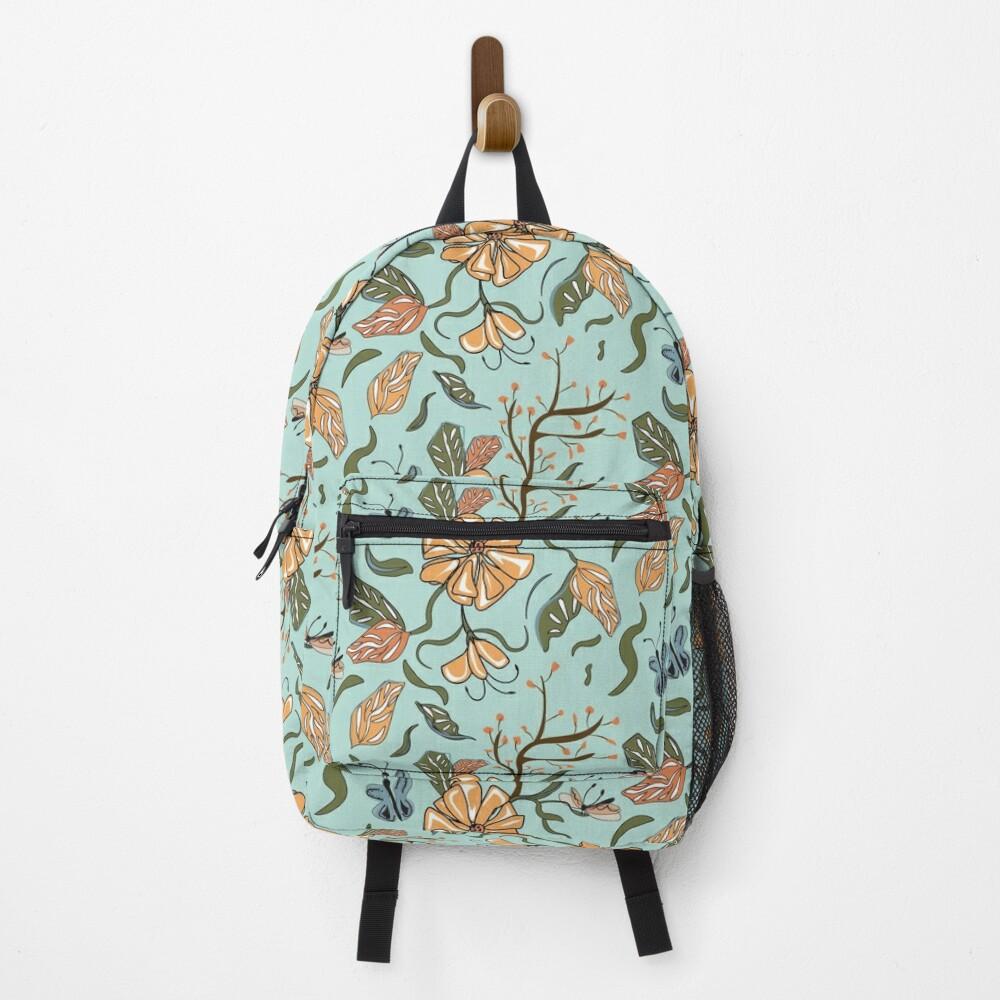 Madagascar Floral Backpack