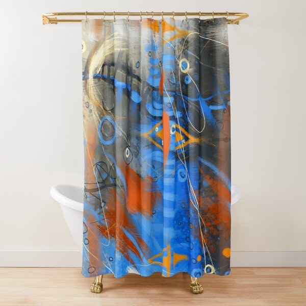 Beautiful Delirium Shower Curtain