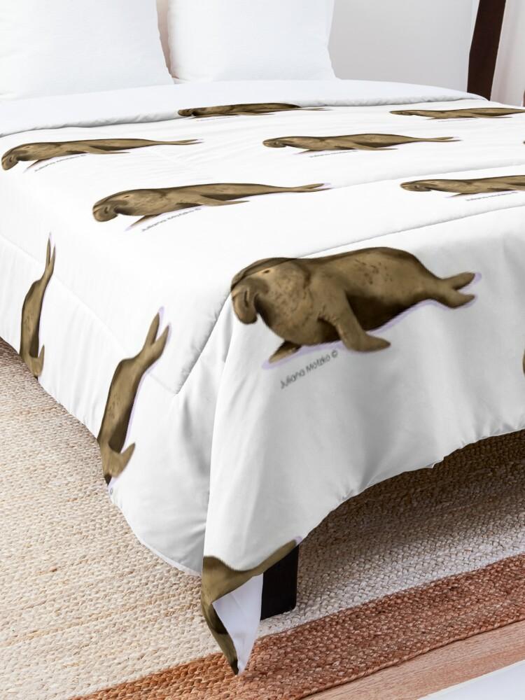 Alternate view of Elephant Seal Comforter