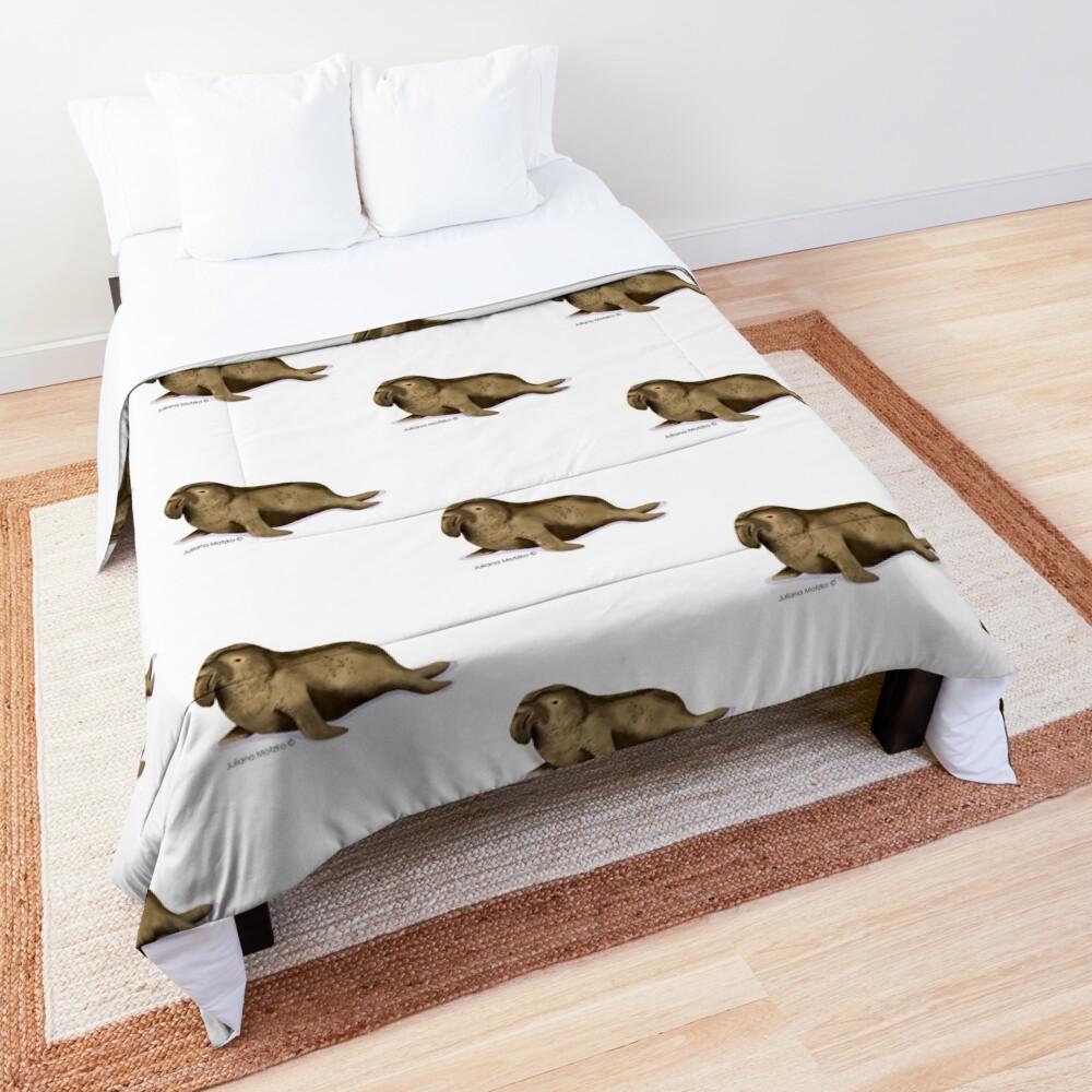 Elephant Seal Comforter