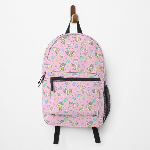 Piggycorn Pattern in pink  Backpack