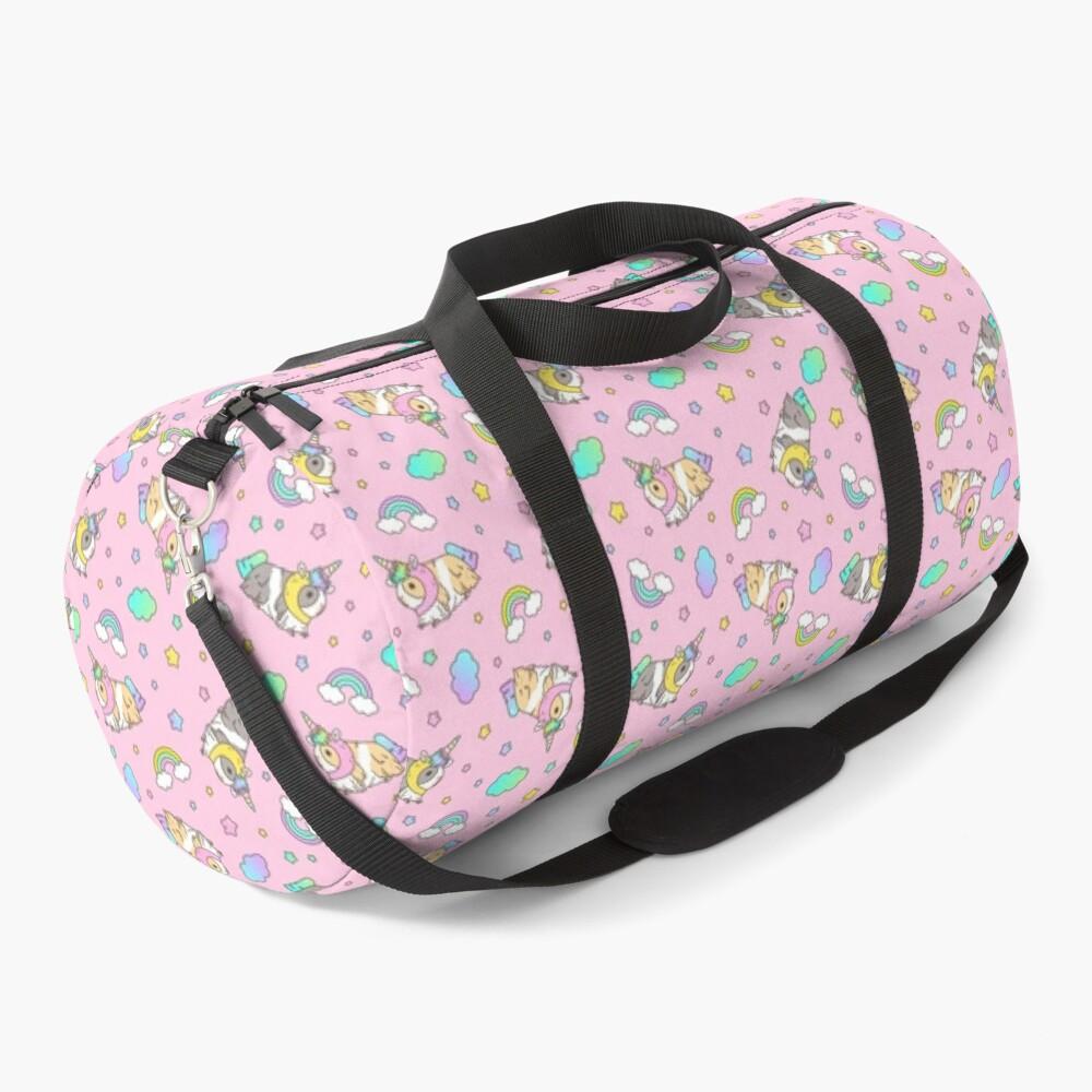Piggycorn Pattern in pink  Duffle Bag