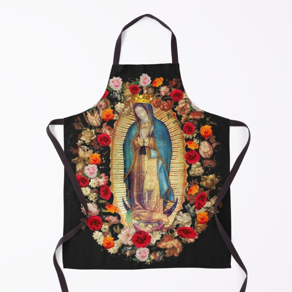 Our Lady of Guadalupe Mexican Virgin Mary Mexico Catholic Saint Apron