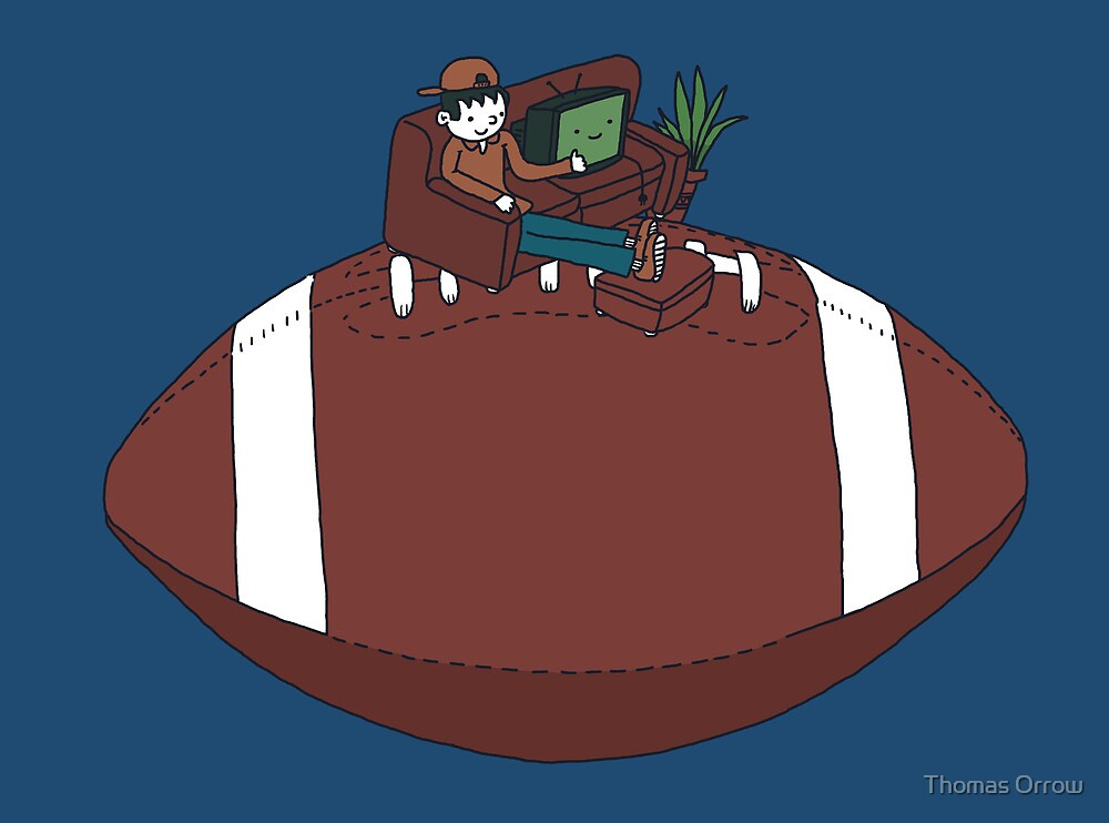 American Football by Thomas Orrow