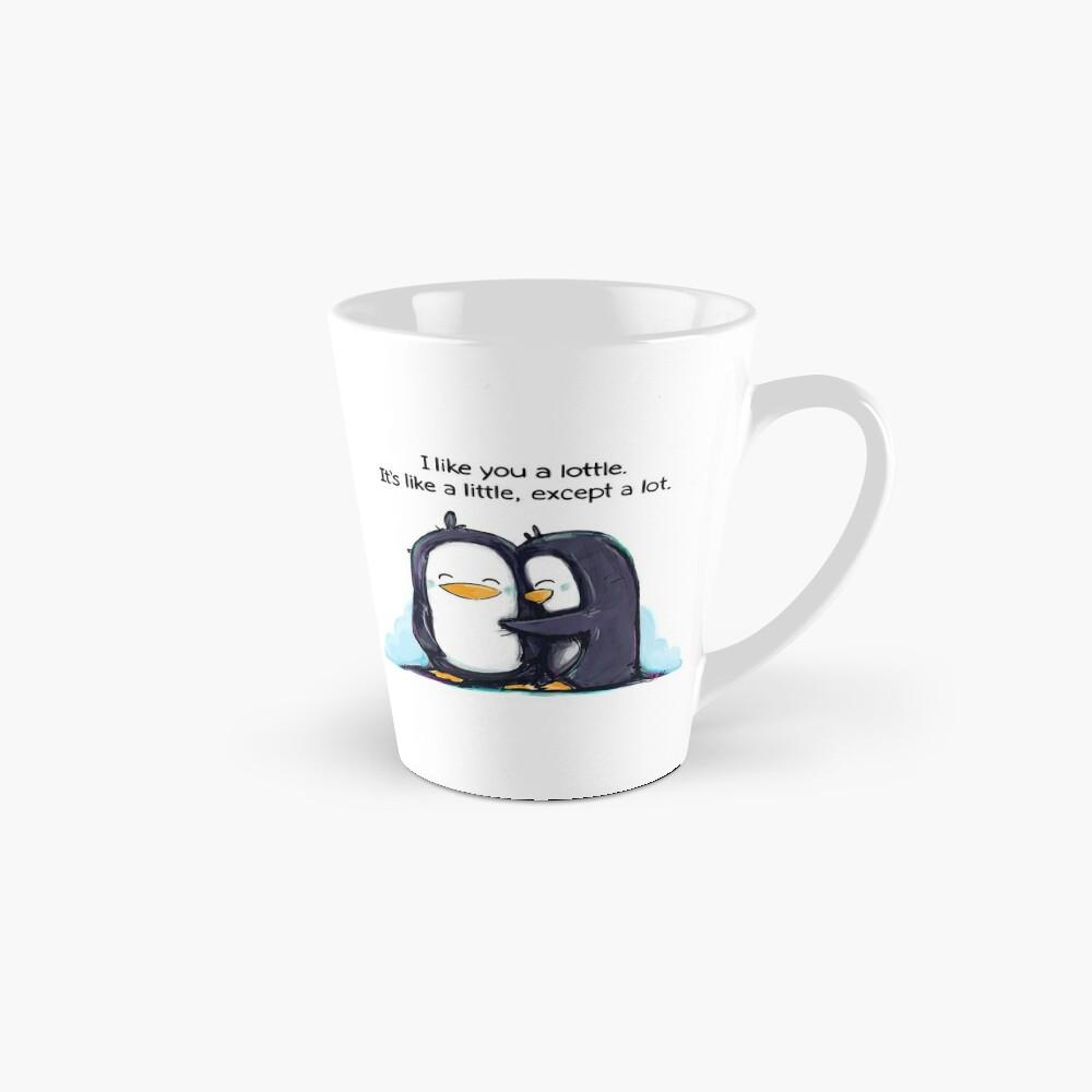 I Like You a Lottle Penguins Mug