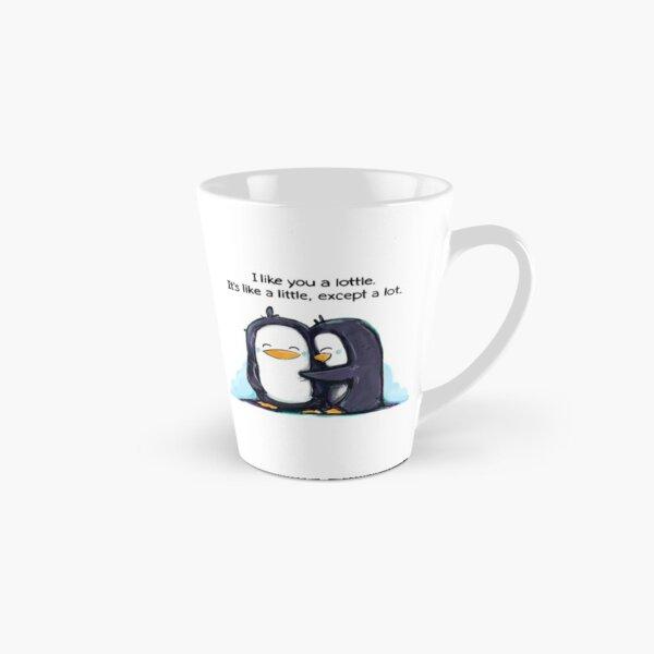 I Like You a Lottle Penguins Tall Mug