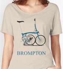 Brompton Folding Bike Women's Relaxed Fit T-Shirt