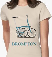 Brompton Folding Bike Women's Fitted T-Shirt