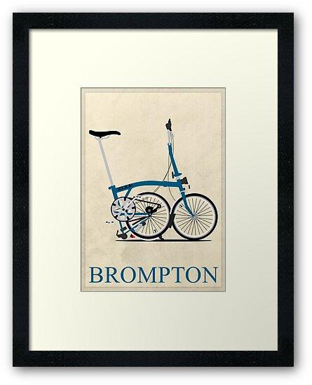Brompton Folding Bike by Andy Scullion