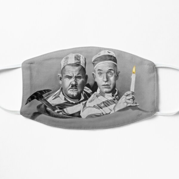 Stan and Ollie Mask