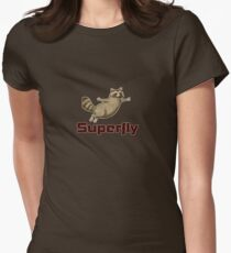 superfly coon Women's Fitted T-Shirt
