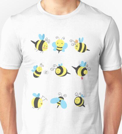 Nine Cute Little Bumblebees T-Shirt