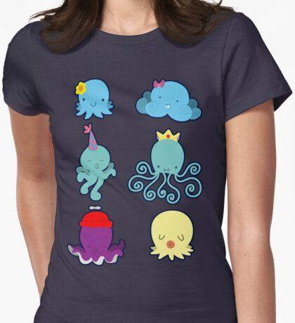 Six Cute Little Octopus T-Shirt