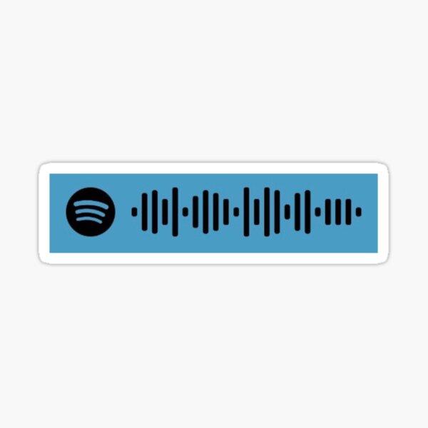 Miku by Anamanaguchi Spotify Code Sticker Sticker
