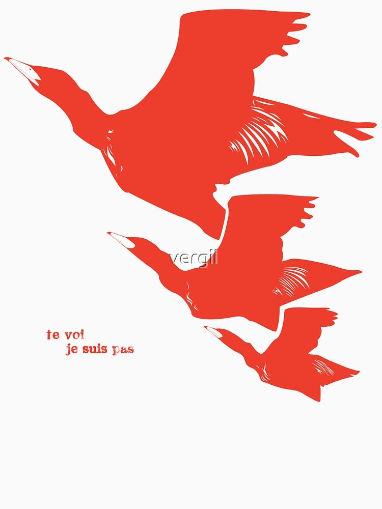 Persona 4 Yosuke Hanamura shirt (red birds)   V-Neck