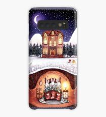 Christmas in the Burrow Case/Skin for Samsung Galaxy