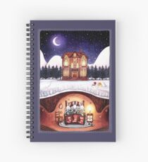 Christmas in the Burrow Spiral Notebook