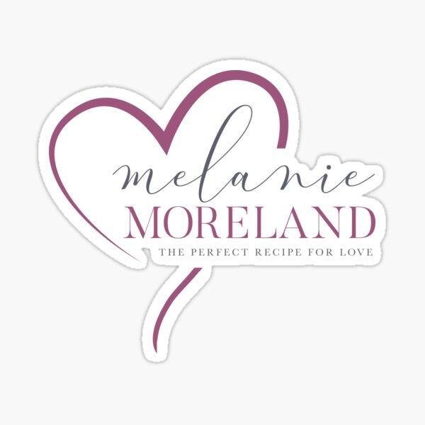 Melanie Moreland Logo Sticker