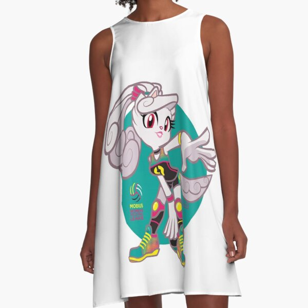 Chrystal Cooperson volleyball A-Line Dress