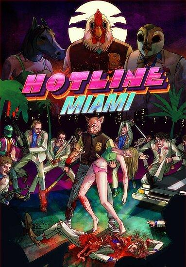 Hotline Miami Abdeckung von CAINHURST