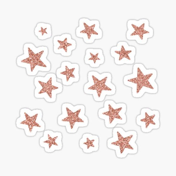 Rose Gold Glitter Sticker pack Sticker
