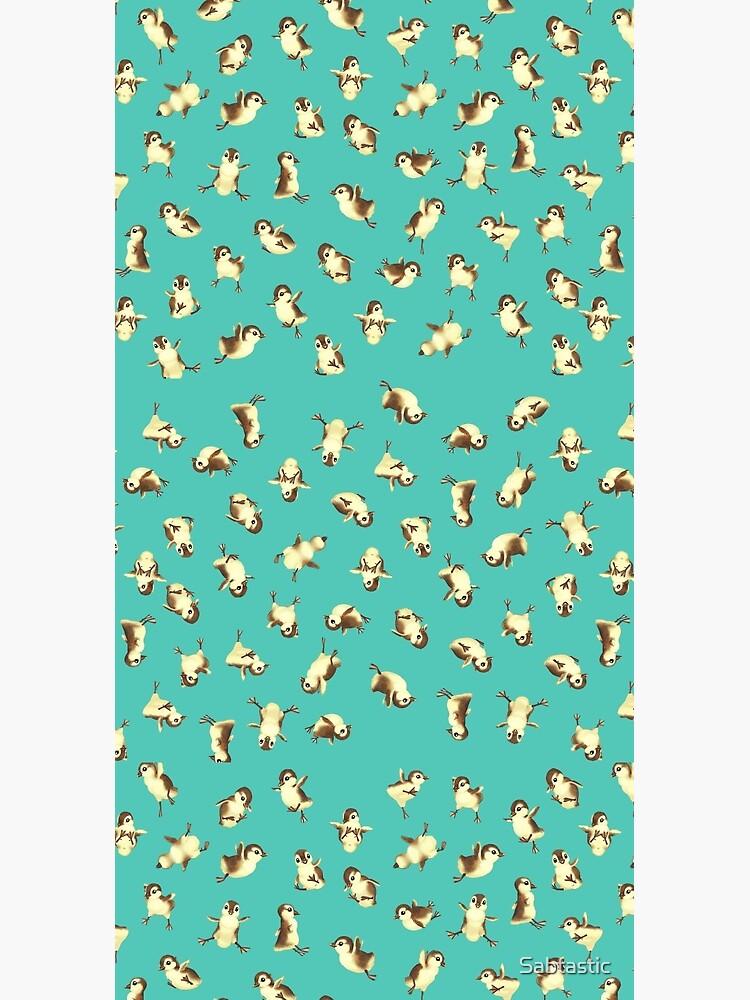 Airborne Baby Ducks by Sabtastic