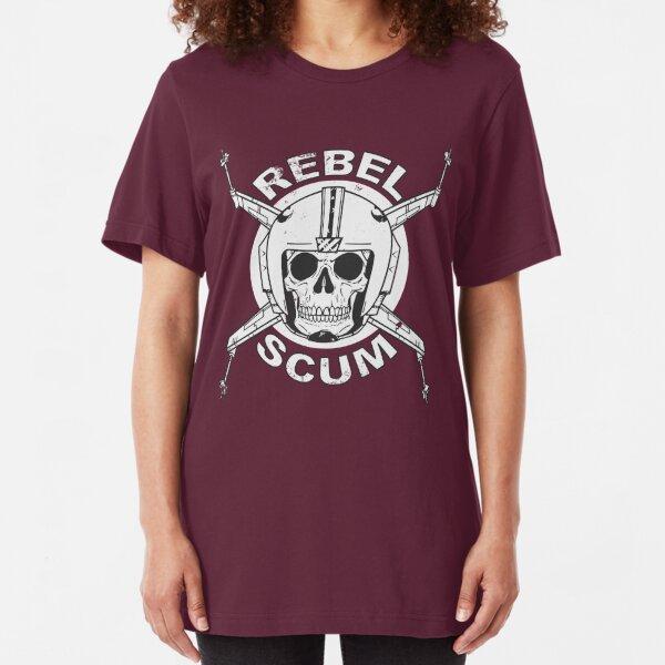 Rebel Scum Space Galaxy Nerd Movie Geek Gift Tee Shirts Tshirts For Women