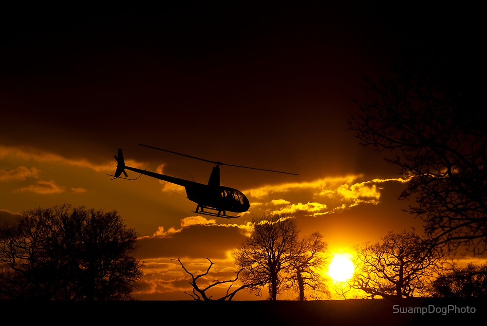 Off into the Sunset by SwampDogPhoto