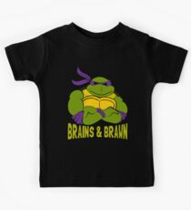 Brains & Brawn Kids Tee