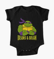 Brains & Brawn One Piece - Short Sleeve