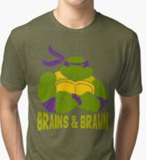 Brains & Brawn Tri-blend T-Shirt