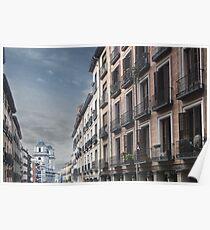 Calle Toledo, Madrid Poster