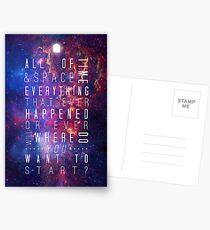 Where Do You Want To Start? Postkarten