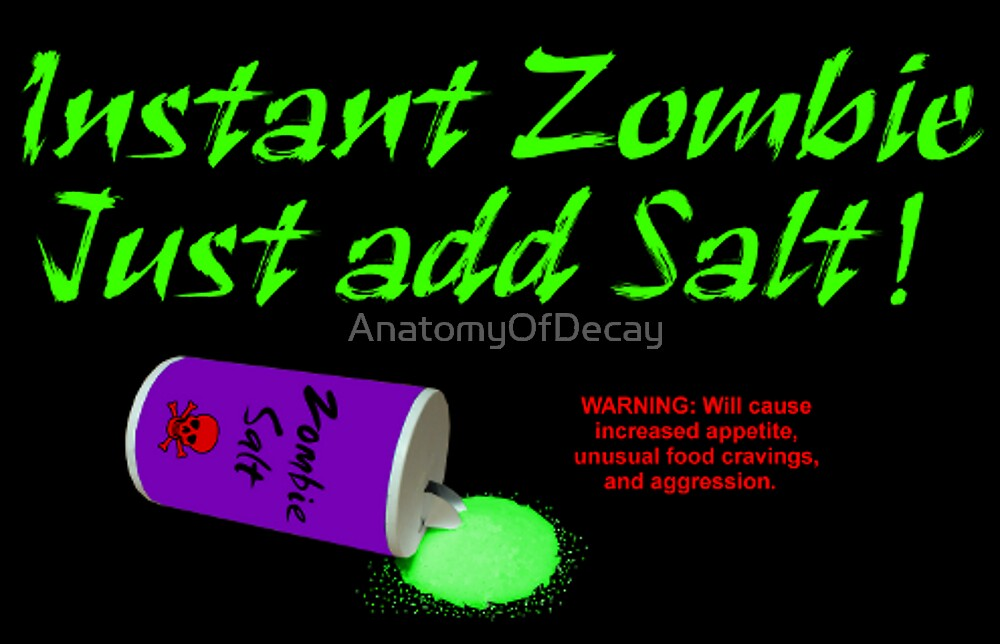 Instant Zombie by AnatomyOfDecay