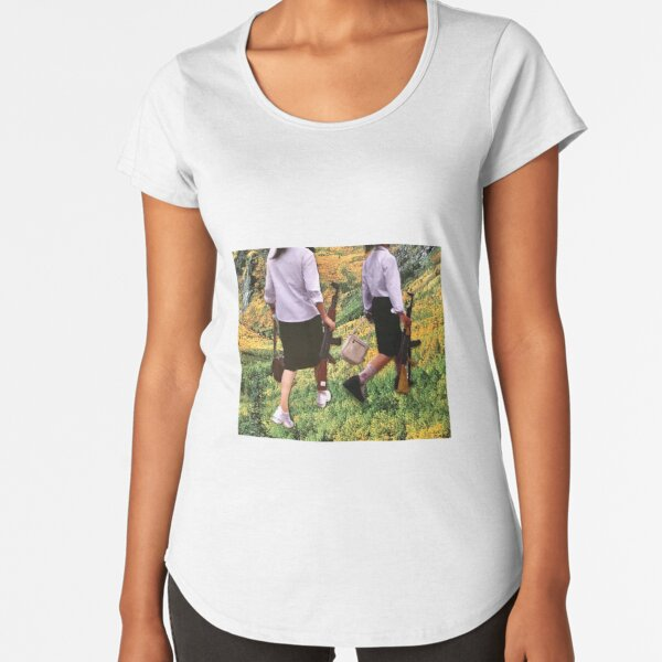 Best Friends and Partners in Crime Premium Scoop T-Shirt