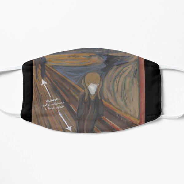 The Scream COVID edition Flat Mask