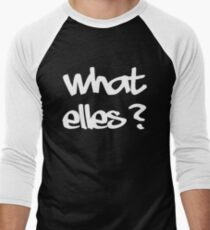 what else? Men's Baseball ¾ T-Shirt