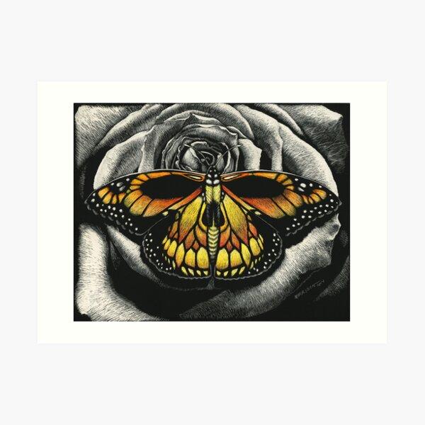 Monarch of Death Art Print