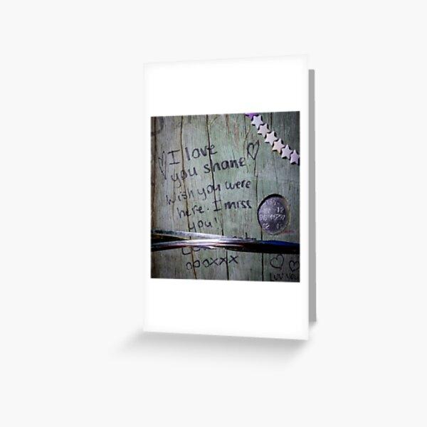 Roadside memorials #16 Greeting Card
