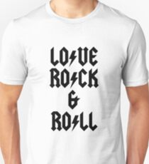 LOVE ROCK AND ROLL T-Shirt