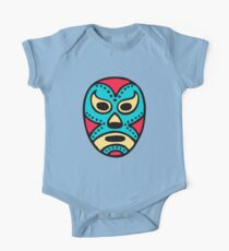 Mexican Wrestling Mask - Lucha Libre One Piece - Short Sleeve