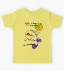 Archaeology Boy, Archaeology Girl Kids Clothes
