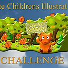 Cute Childrens Illustrations - Top 10 Banner by Dennis Melling