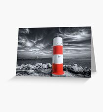 Port or Starboard Colourised Greeting Card