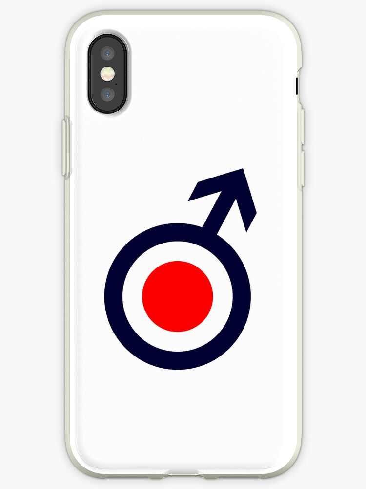 new products 54b74 8f690 'A mod target cover in white iPhone case' iPhone Case by chalkyscoot