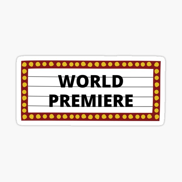 World Premier Sticker