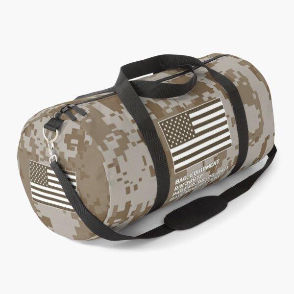Bag Camo, US Army Desert Duffle Bag