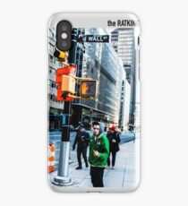 f**k wall street iPhone Case/Skin
