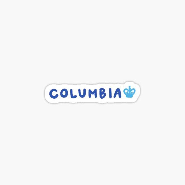 Columbia University Sticker