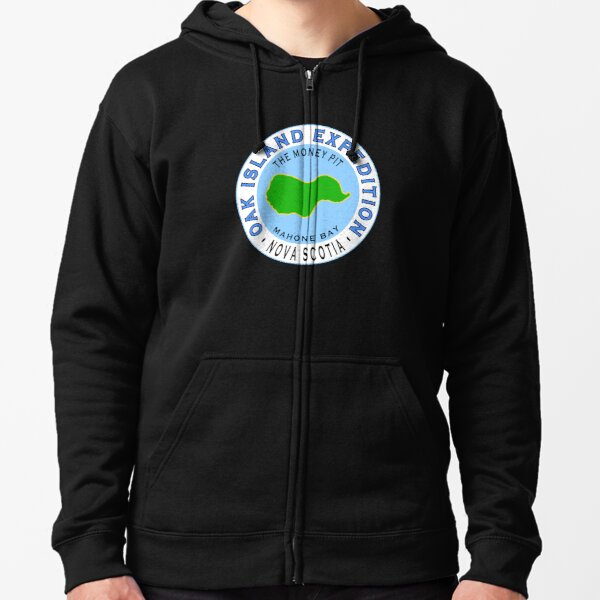 Oak Island Money Pit Expedition Zipped Hoodie